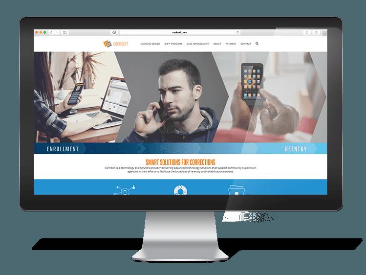 Corrisoft website sample